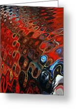 Abstract-infinity Two Greeting Card by Patricia Motley