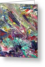 Abstract Jungle 7 Greeting Card