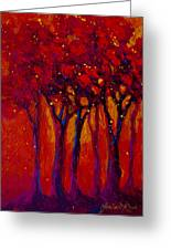 Abstract Landscape 2 Greeting Card