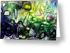 Abstract Landscape IIi Greeting Card