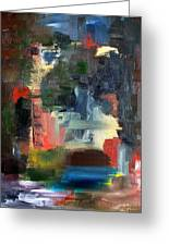 Abstract Landscape Greeting Card