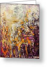 abstract landscape VI Greeting Card