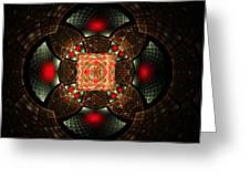 Abstract Mandala 2 Greeting Card