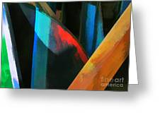 Abstract No. Twenty Four Greeting Card