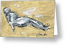 Abstract Nude Greeting Card