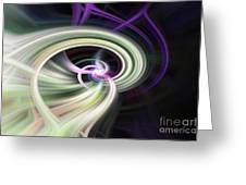 Abstract Number 13 Greeting Card