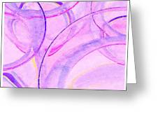 Abstract Number 20 Greeting Card