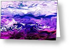 Abstract Ocean Fantasy One Greeting Card