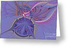 Abstract Of Cells Greeting Card