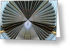 Abstract Old Car Vent Greeting Card