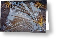 Abstract On The Rocks Greeting Card