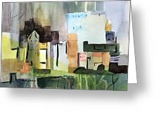 Abstract Opus 5 Greeting Card