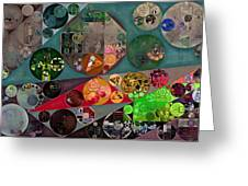 Abstract Painting - Chicago Greeting Card