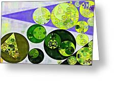 Abstract Painting - June Bud Greeting Card