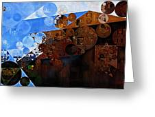 Abstract Painting - Spring 2015 Greeting Card