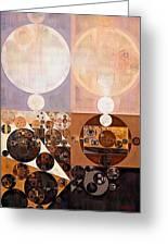 Abstract Painting - Zinnwaldite Greeting Card