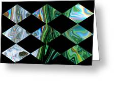 Abstract Pattern Card  Greeting Card