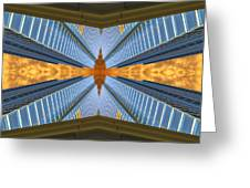 Abstract Photomontage N131v1 Dsc0965  Greeting Card