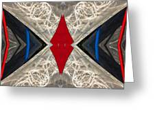 Abstract Photomontage N41p4f175 Dsc7221 Greeting Card