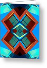 Abstract Photomontage No 3 Greeting Card