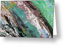 Abstract Piano 2 Greeting Card