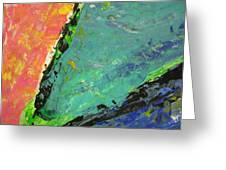 Abstract Piano 4 Greeting Card