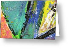 Abstract Piano 5 Greeting Card