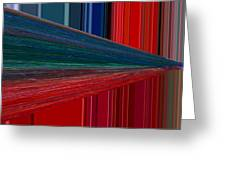 Abstract Pipeline Greeting Card