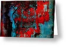 Abstract Play 04 Greeting Card