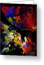Abstract Pm Greeting Card