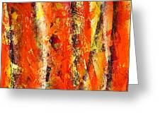 Abstract R-0176 Greeting Card