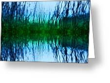 Abstract Reeds No. 1 Greeting Card