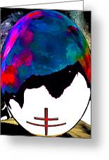 Abstract Religion 2a Greeting Card