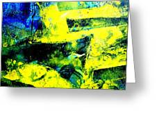 Abstract Scape Greeting Card