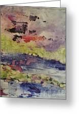 Abstract Series Dreaming Greeting Card