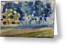 Abstract, Spring Greeting Card