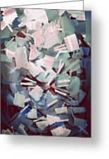 Abstract Stone Chaos Greeting Card