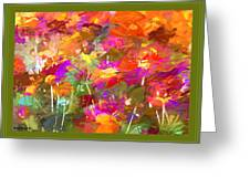 Abstract Thought Processes Greeting Card