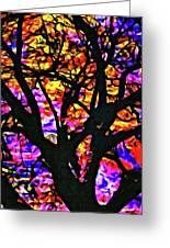 Abstract Tree 304 Greeting Card