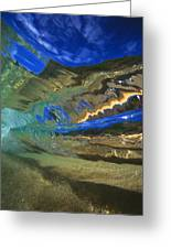 Abstract Underwater View Greeting Card
