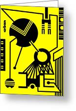 Abstract Urban 02 Greeting Card