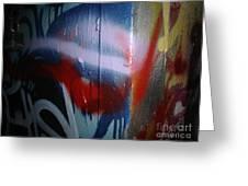 Abstract Urban Art Greeting Card