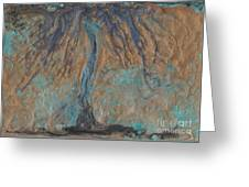 Abstract Vii Wr Greeting Card