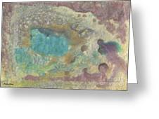Abstract Viii Wr Greeting Card