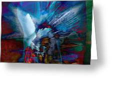 Abstract Visual Greeting Card