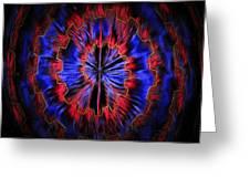 Abstract Visuals - Quantum Mechanical Headache Greeting Card