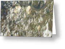 Abstract Water Art V Greeting Card