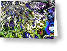 Abstract Wildflower 6 Greeting Card