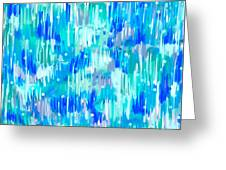 Abstract Winter Greeting Card