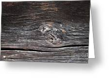 Abstract Wood Background  Greeting Card